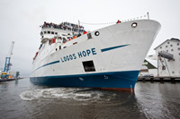 Logos Hope begins service